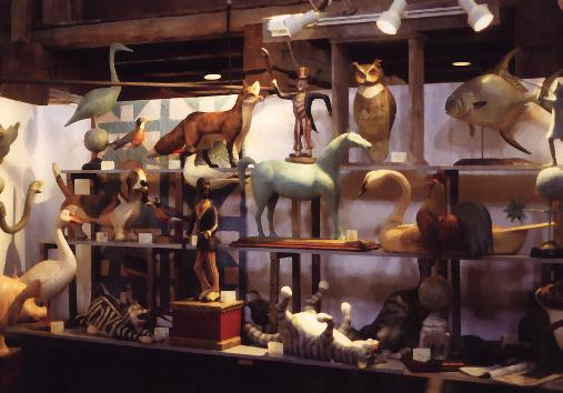A View of Thomas Langan's Gallery